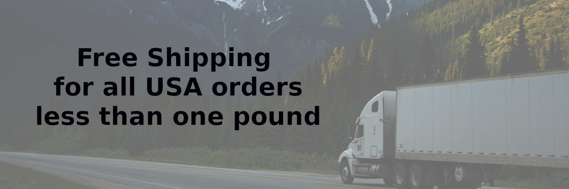 Free Shipping for less then a pound