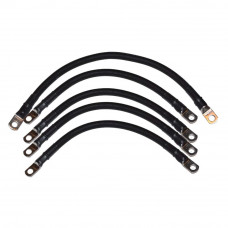 2 AWG Battery Cable Set for E-Z-Go DCS & PDS