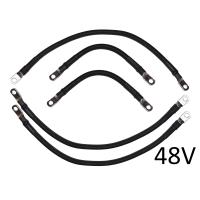 4 AWG Battery Cable Set for Yamaha G14 / G16 48V