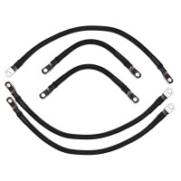 2 AWG Battery Cable Set for Yamaha G19 - 48 V 1996-2002
