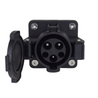 J1772 Electric Vehicle Charging Socket Vehicle Inlet Connector 32 AMP